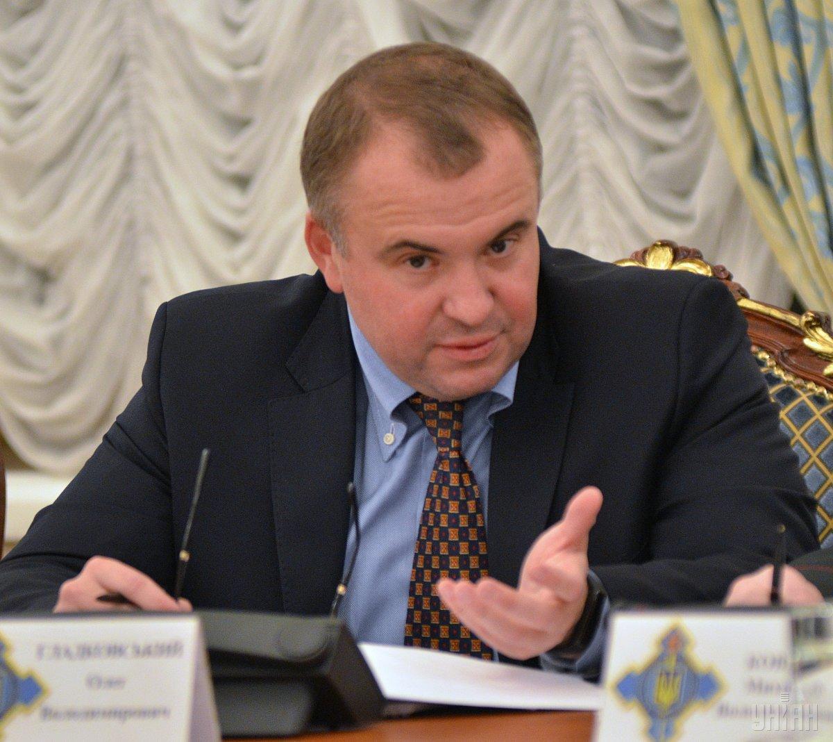 Олега Гладковского журналисты называют другом нынешнего президента Петра Порошенко / УНИАН