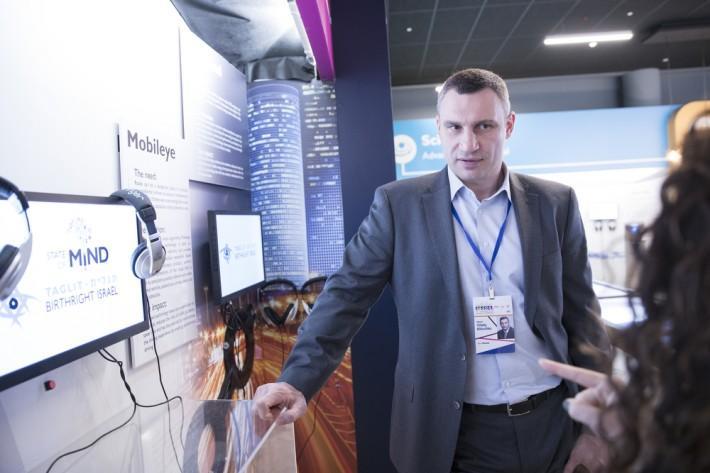 Кличко посетил в Тель-Авиве Инновационный центр, где собраны технологические разработки израильских стартапов / фото: пресс-служба Кличко