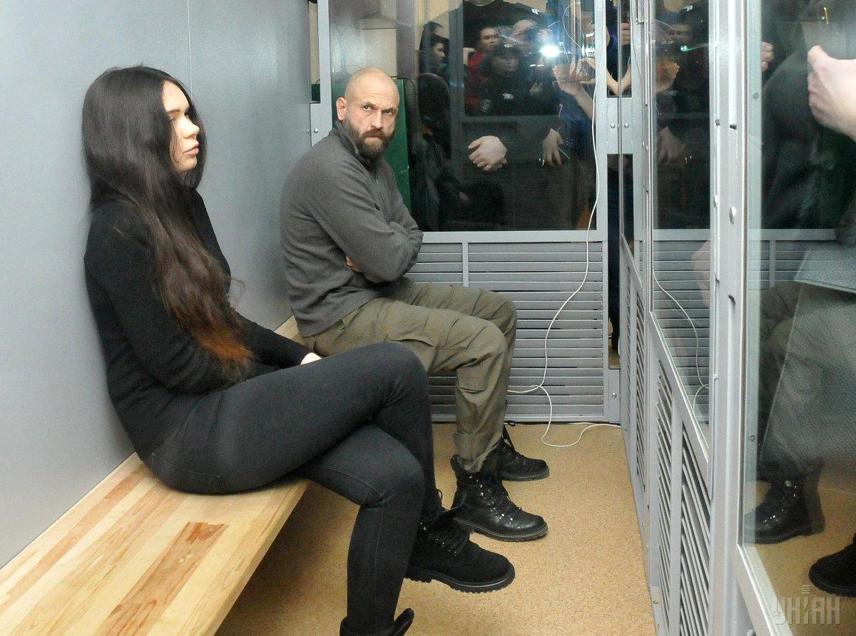 Суд розглядає справу Зайцевої-Дронова / фото УНІАН