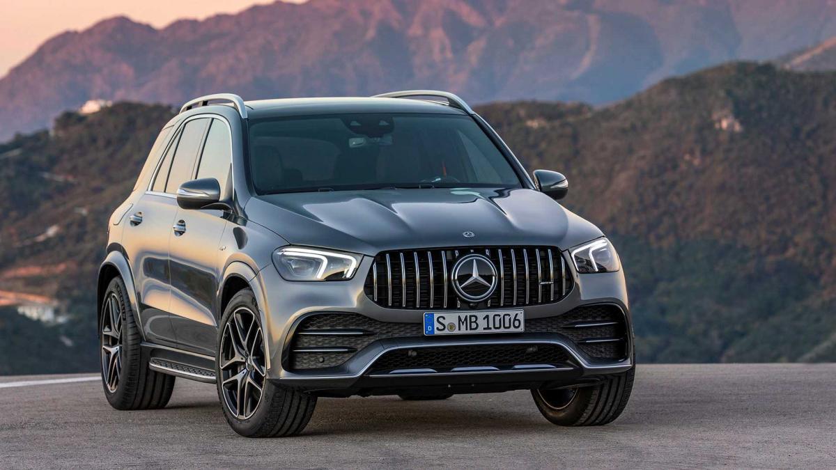 Новый Mercedes-Benz GLE стал 435-сильным AMG-гибридом / mercedes-benz.com
