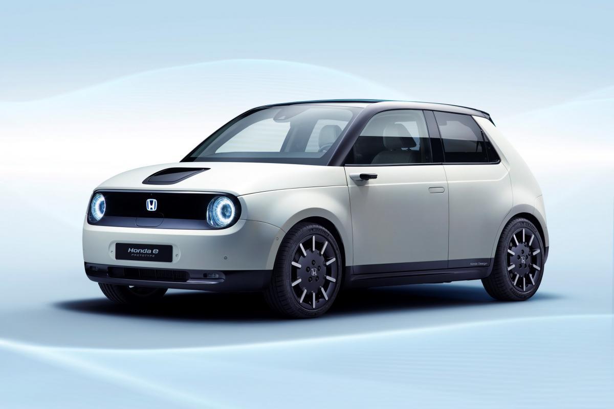 The Japanese have displaced the Honda e Prototype / photo hondanews.eu electric