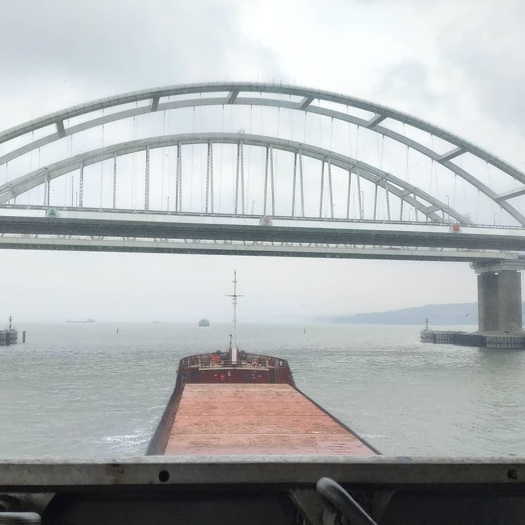 Крымский мост уверенно пережил зиму