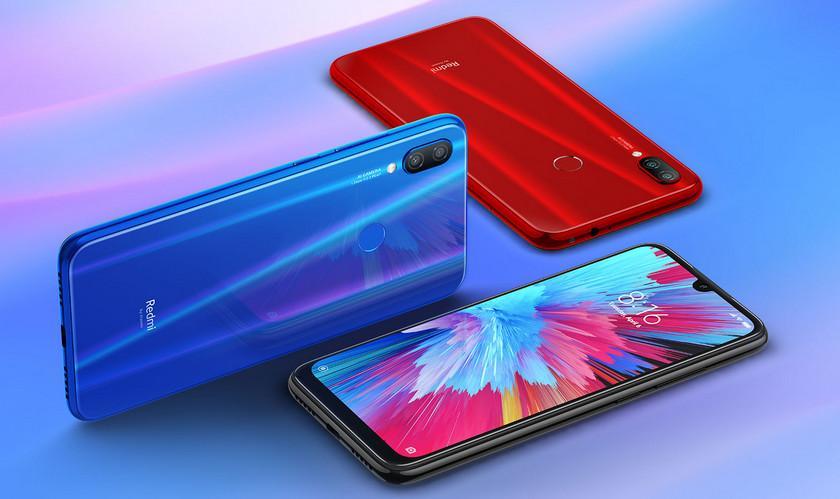"Конструктивно Redmi Note 7 Pro идентичен своему ""младшему брату"" / фото Xiaomi India"