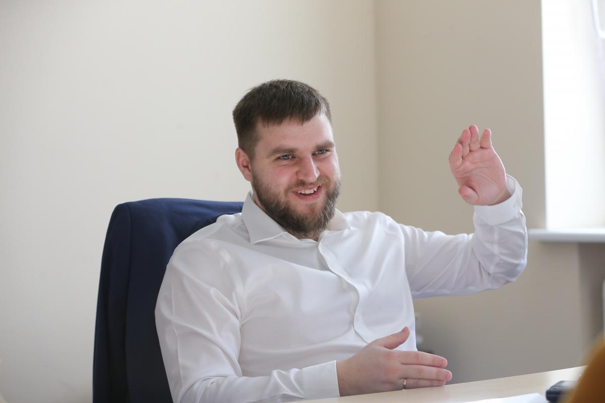 Гендиректор СЕТАМ Віктор Вишньов / фото УНІАН