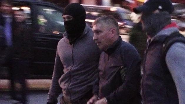 Осужденный якобы работал на военную разведку Минобороны Украины / фото: ФСБ РФ
