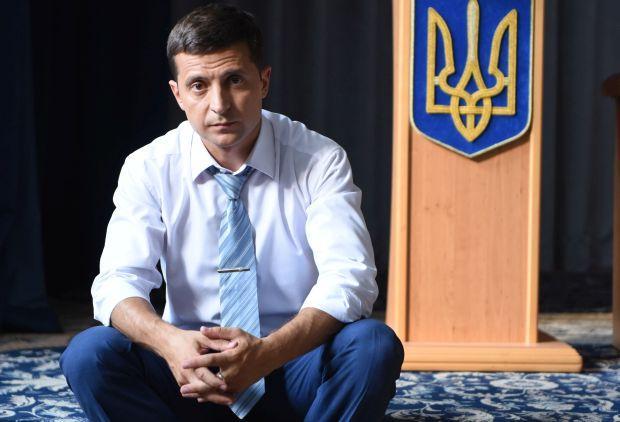 Політик розповів про своє бачення вирішення проблеми Донбасу / фото прес-служби Володимира Зеленського