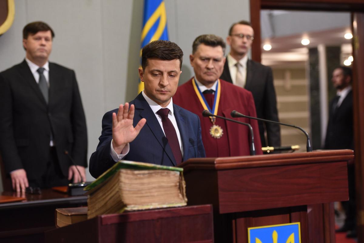 Комитет сегодня не рассмотрит дату инаугурации Зеленского / фото пресс-служба Владимира Зеленского