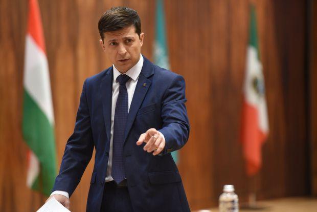 Зеленский представил членов команды в эфире передачи «Право на власть» / фото пресс-службы политика