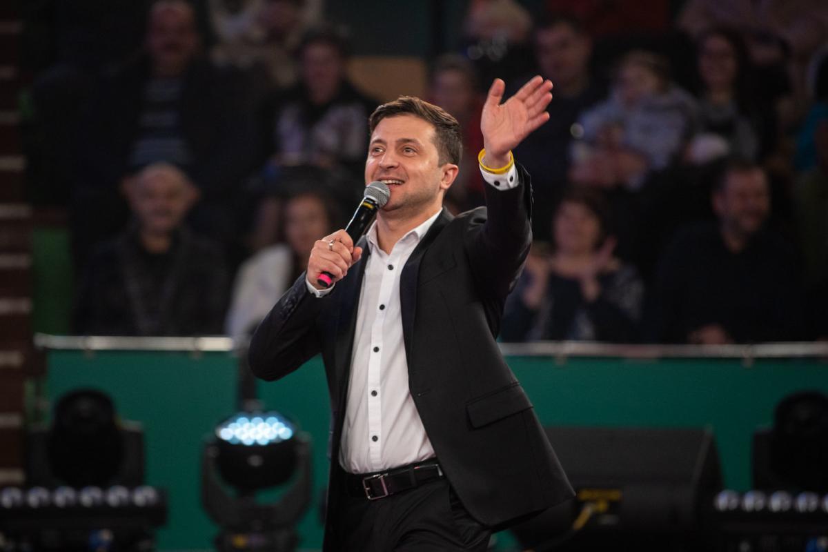 Зеленский поблагодарил за то, что за него проголосовали / фото пресс-службы политика