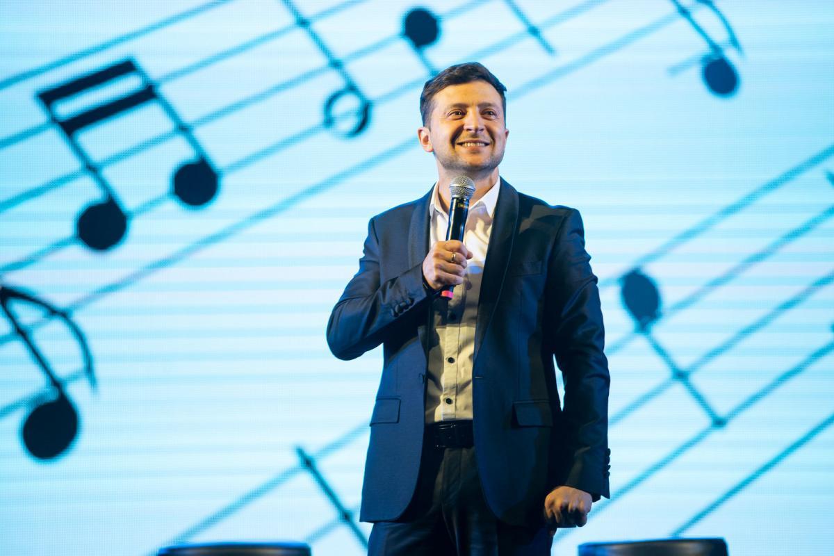 Зеленский в первом туре получил более 30% голосов / фото пресс-службы политика