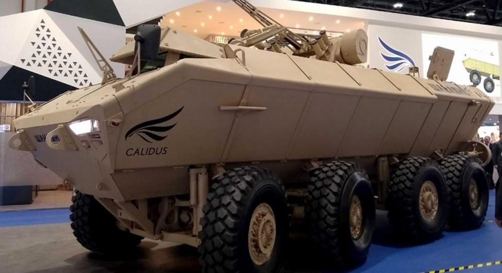 UAE company unveils new amphibious IFV with Ukrainian Shturm turret
