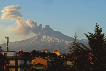 На Сицилії активізувався вулкан Етна