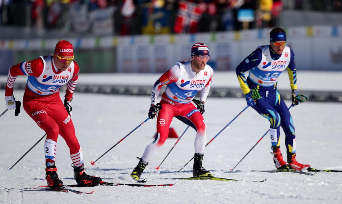 Полторанин (справа) признался в применении допинга / Reuters