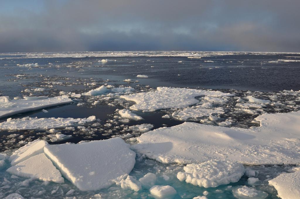 Площадь ледяной шапки Северного Ледовитого океана меняется в течение года / фото flickr.com/usgeologicalsurvey