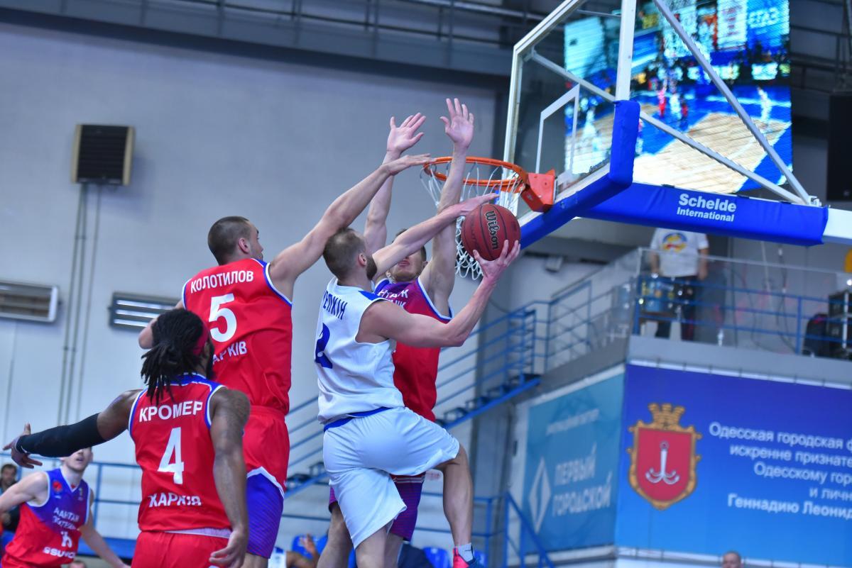 Одесса обыграла Политехник в матче баскетбольной Суперлиги / fbu.ua