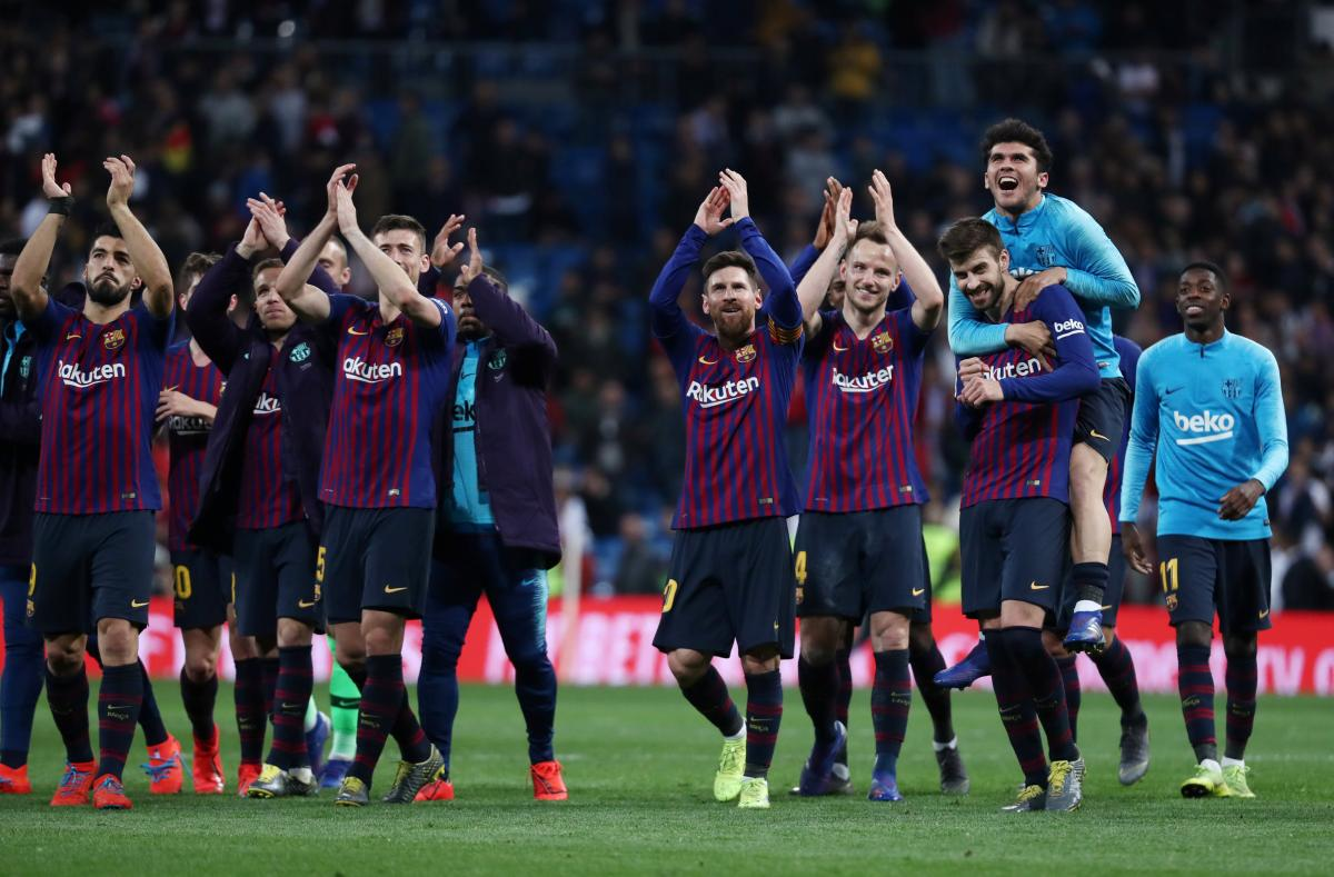 """""""Барселона"""" обыграла на выезде """"Реал"""" - 1:0 / REUTERS"""