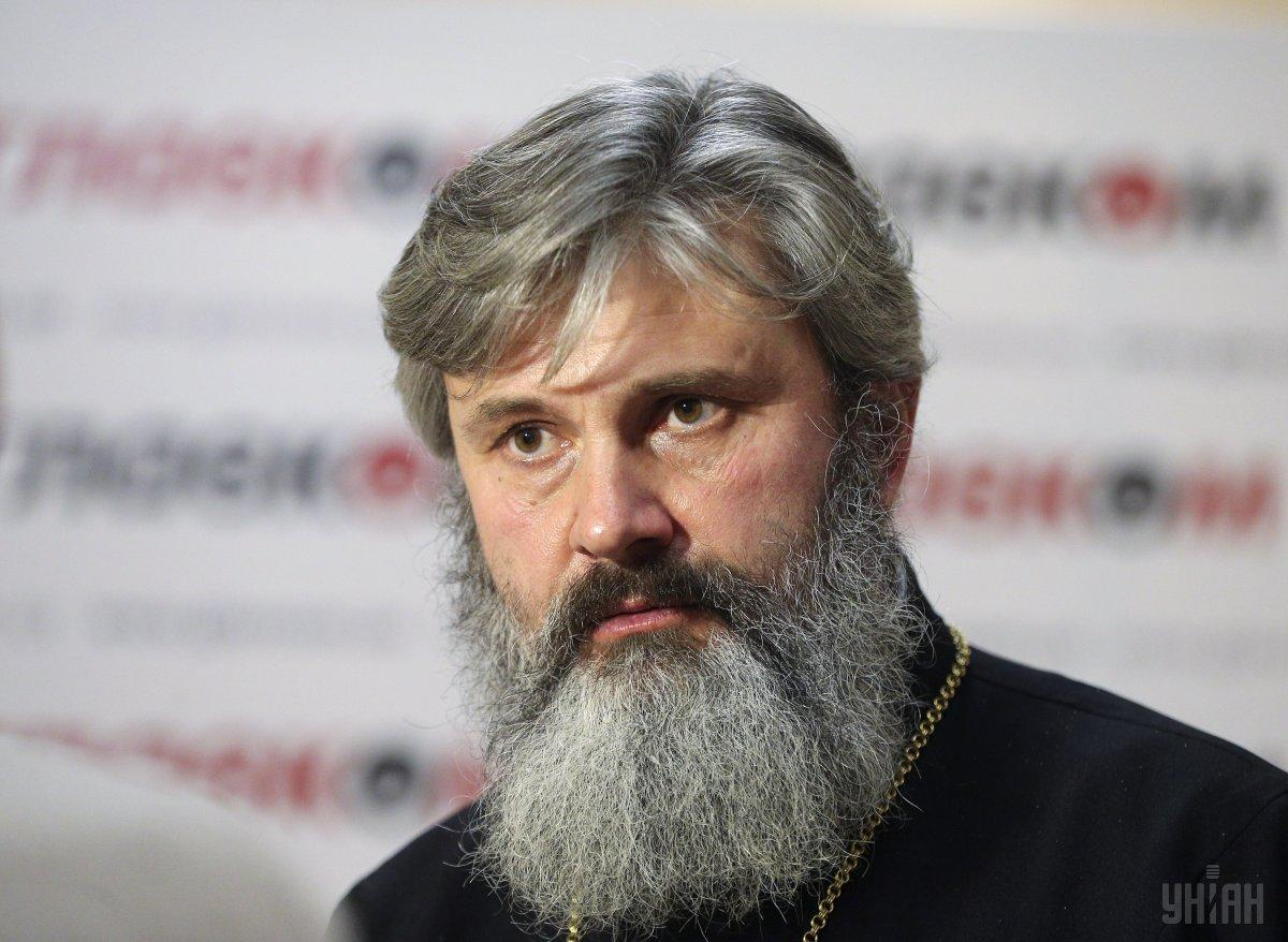 Archbishop Klyment was detained at the Simferopol bus station / Photo from UNIAN