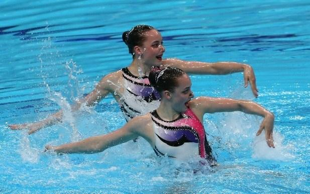 Twin sisters Vlada Aleksiiva and Maryna Aleksiiva / Photo from National Olympic Committee of Ukraine