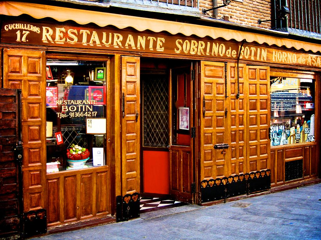 Casa Botin – самый старый ресторан в мире / Фото google.com