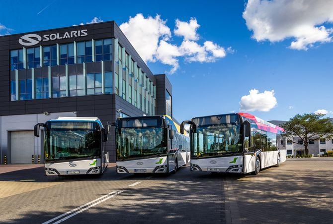 По итогам 2018 года Solaris произвел 1226 автобусов / фото Solaris