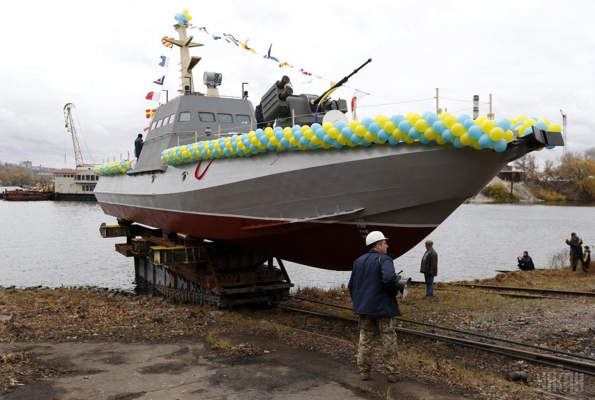 Заробляє «Ленкузня» і на військових катерах «Гюрза» \ УНІАН