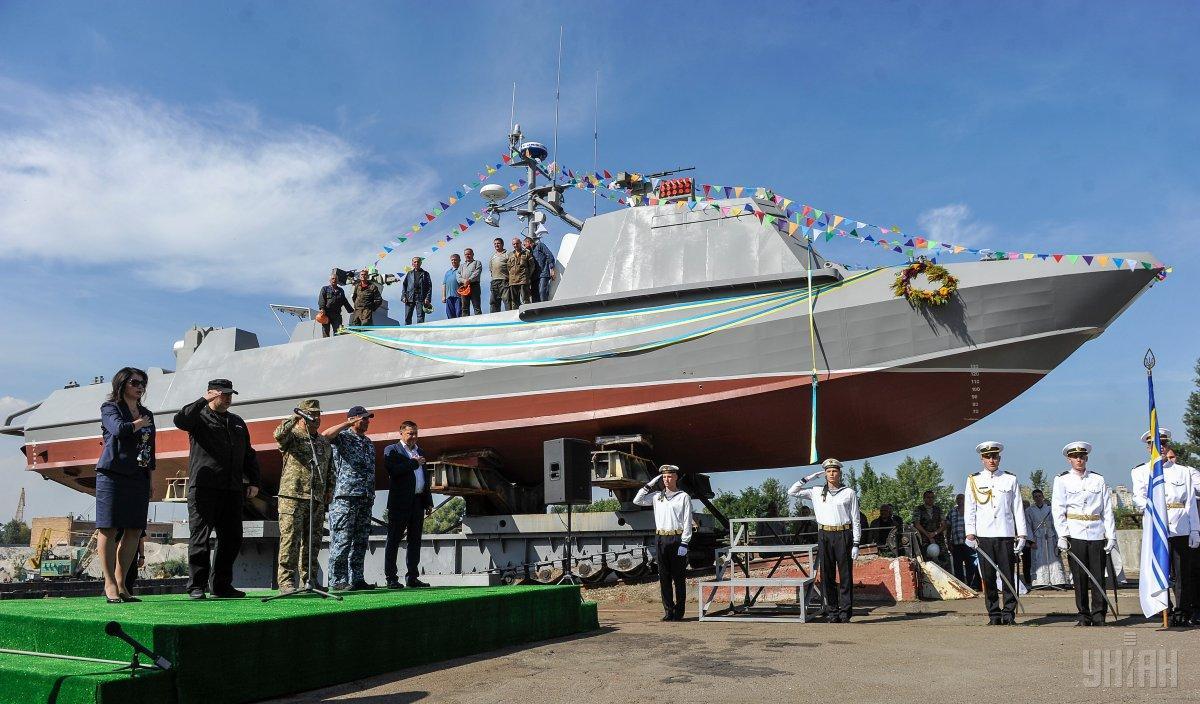 Заробляє «Ленкузня» і на військових катерах – «Кентавр» \ УНІАН