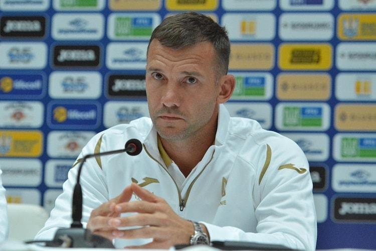 Андрей Шевченко объяснил, почему соперником сборной Украины стала Нигерия / фото: УАФ