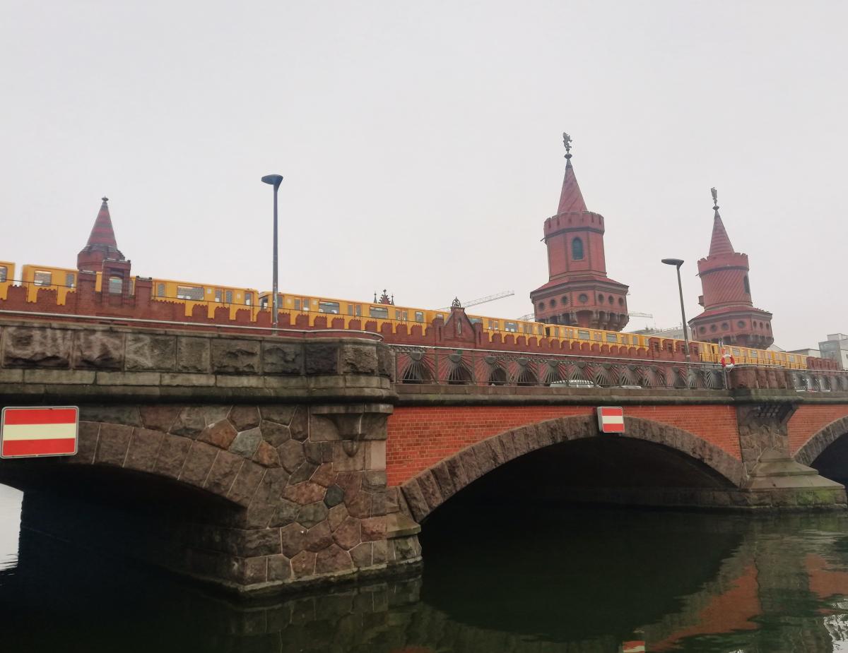 Берлин город большой и без транспорта здесь никак / Фото Марина Григоренко