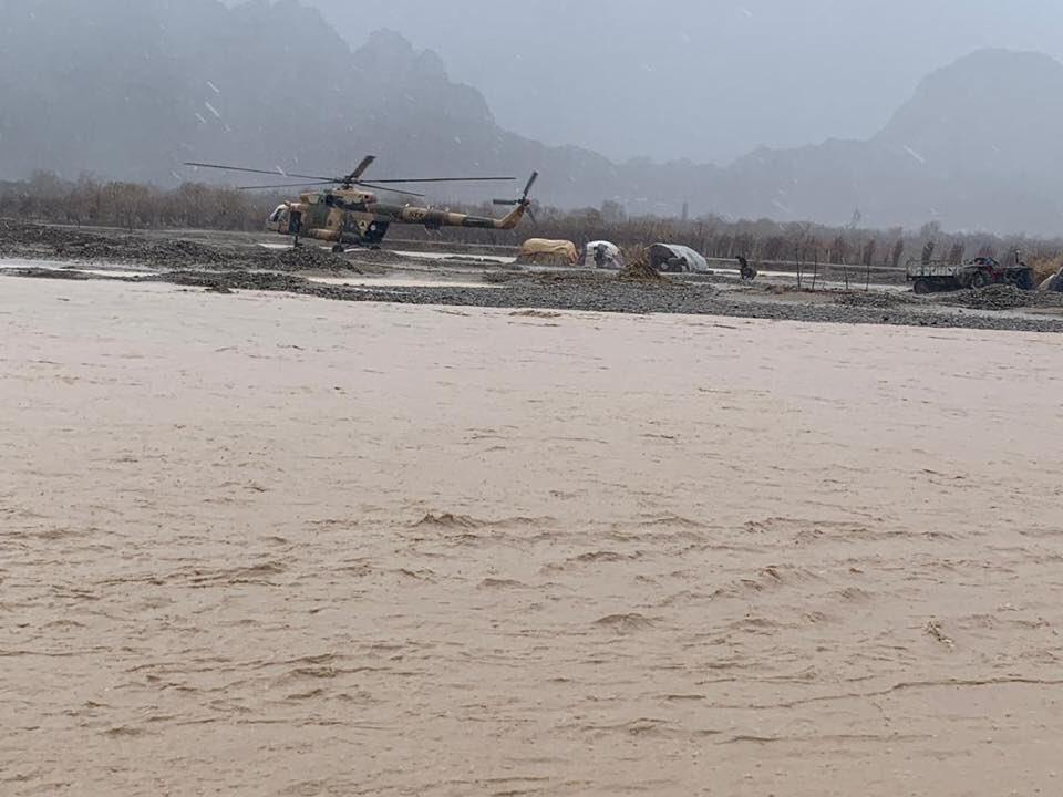 Афганистан накрыло наводнение / twitter.com/MalaliBashir
