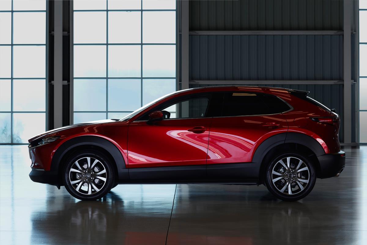 Влинейку Mazda CX-30 войдут бензиновые и дизельные агрегаты / фото mazda.com