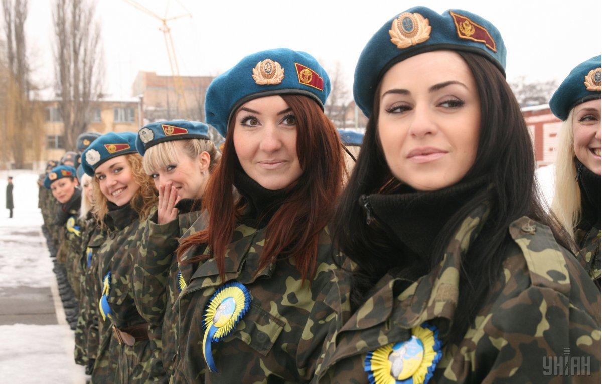 Міноборони усуває перешкоди для активної та повноцінної участі жінок у діяльності війська / фото УНІАН