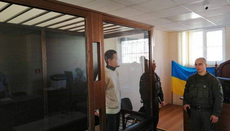 """Суд признал виновным в жестоком обращении с животными 37-летнего Максима Литвина / фото """"Украинская служба информации"""""""