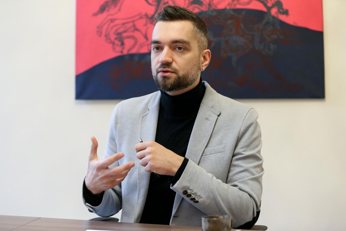 Український інститут є частиною мережі і екосистеми культурних інституцій країни, зазначив його очільник / фото УНІАН