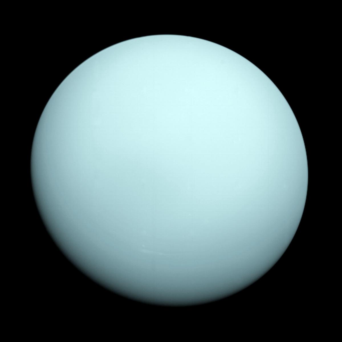 Английский астроном Уильям Гершель открыл планету Уран / фото NASA/JPL