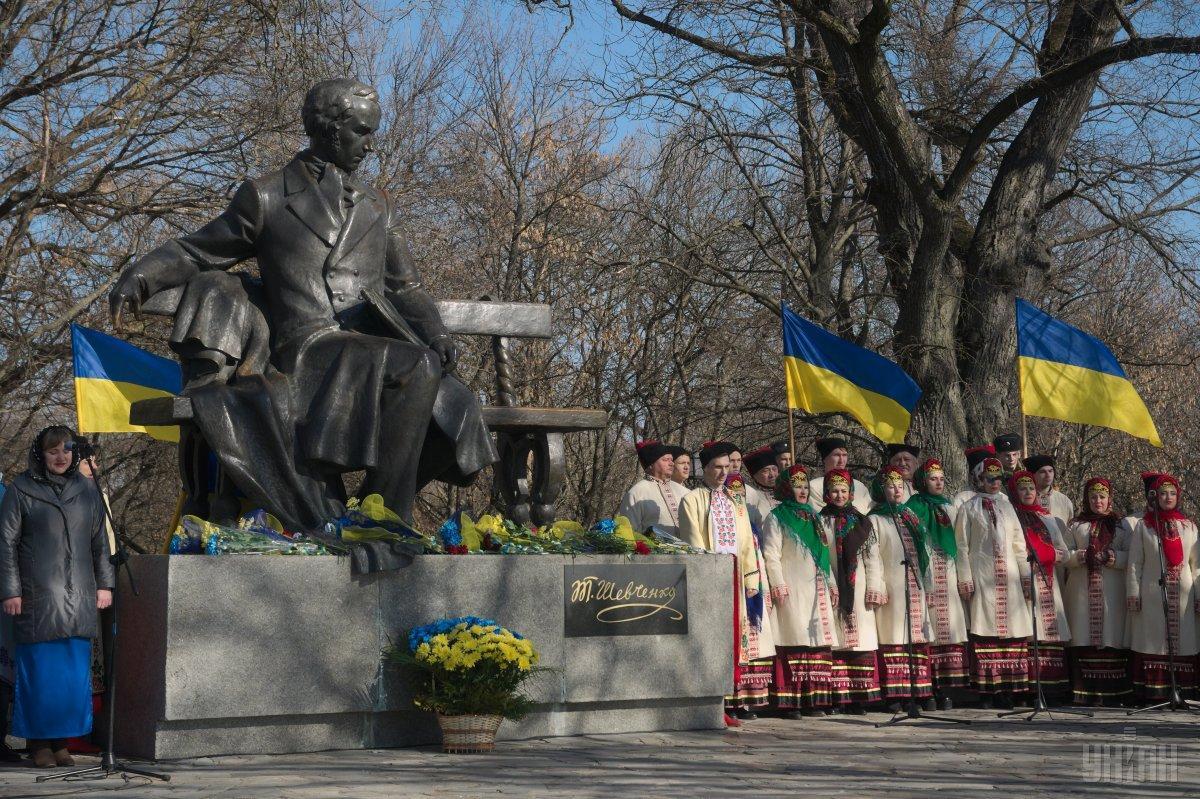 День народження Шевченка -святкові заходи / фото УНІАН