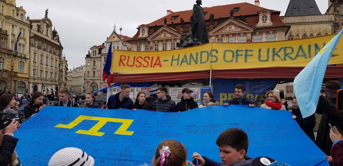 По масштабу нарушения прав человека Крым сопоставим с Донбассом \ фото facebook.com/UkraineEmbassyinCzechia