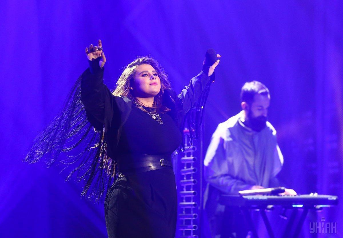 Александра Зарицкая заметила, что критика о том, что она пела мимо нот, не совсем правильная / фото УНИАН