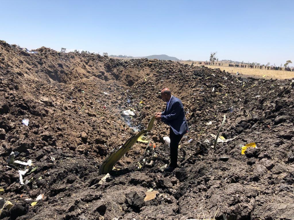 В Африке разбился авиалайнер / фото EthiopianAirlines