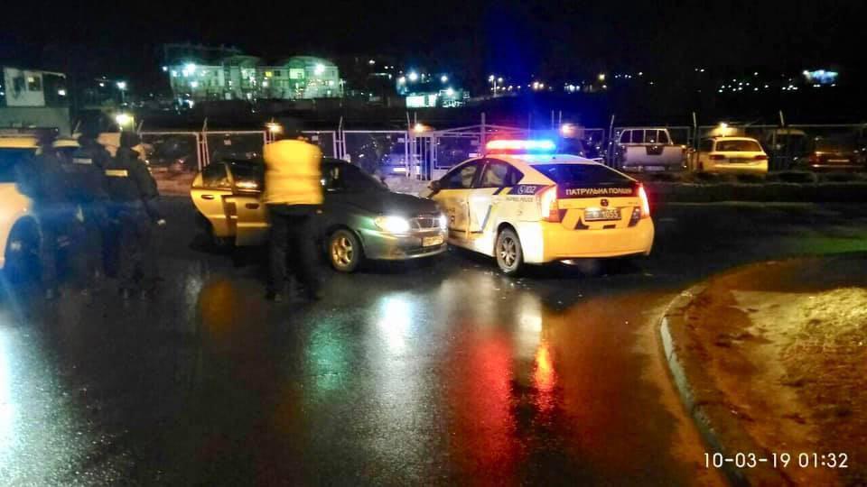 Патрульные получили ориентировку о нетрезвом водителе / Варта1