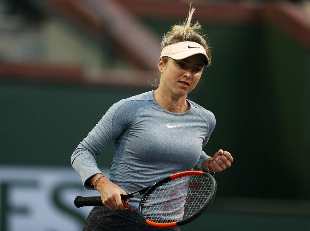 Элина Свитолина прошла во второй круг / фото: WTA