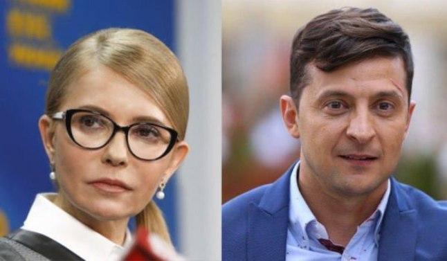 У другому турі виборів зустрінуться Тимошенко і Зеленський