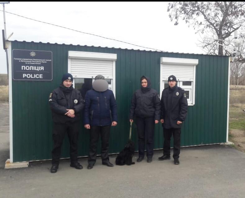 С 2011 года мужчина проходил службу в Военно-морских силах ВСУ / фото ГУ НП в Крыму