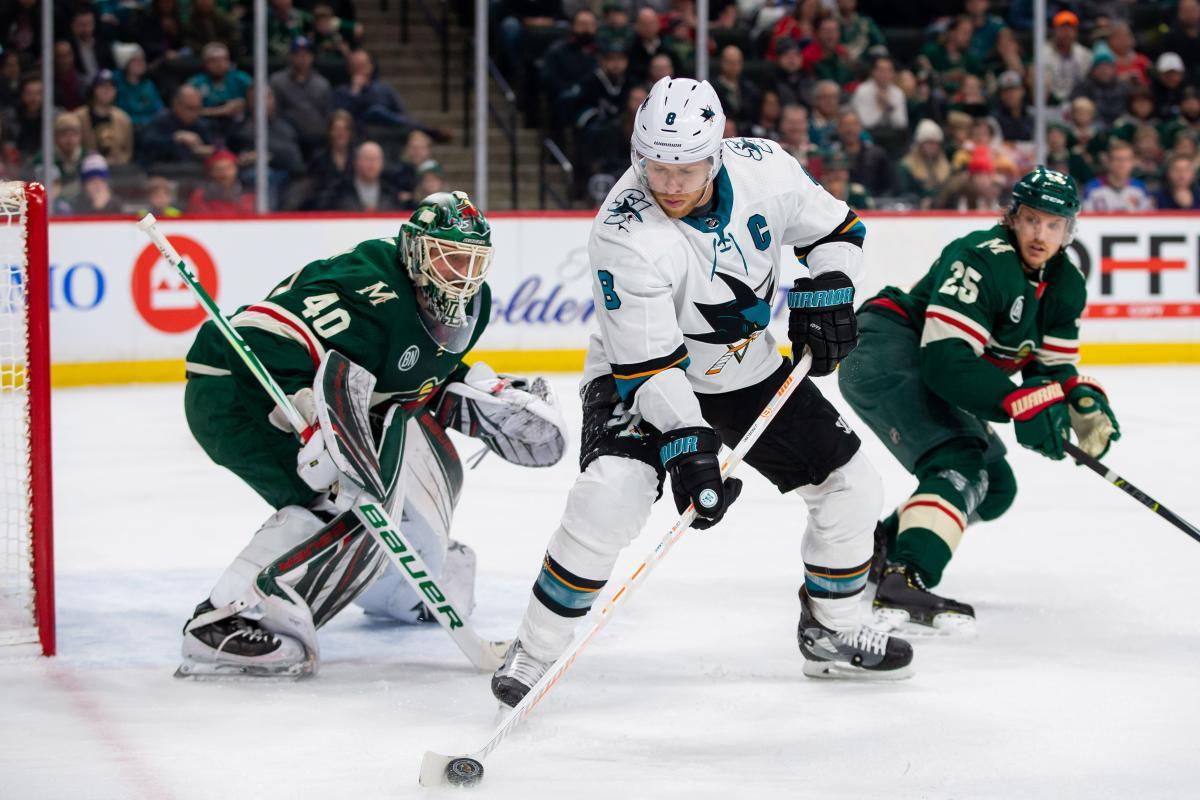 Сан-Хосе обыграл Миннесоту в очень важном матче регулярного чемпионата НХЛ / Reuters