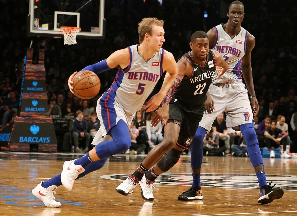 Детройт проиграл Бруклину в матче регулярного чемпионата / Reuters