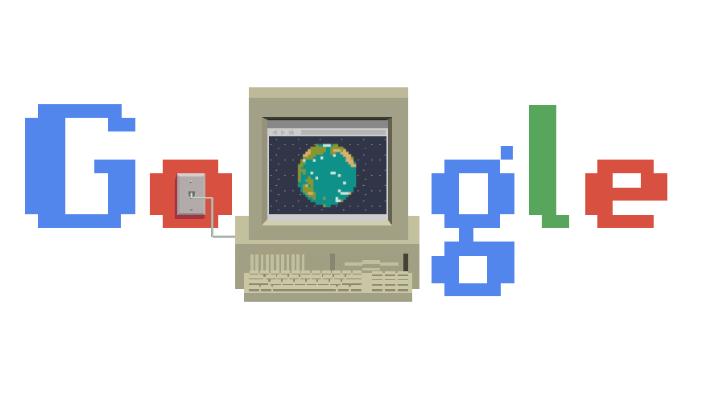 Сегодня - день рождения современного Интернета / Скриншот Google