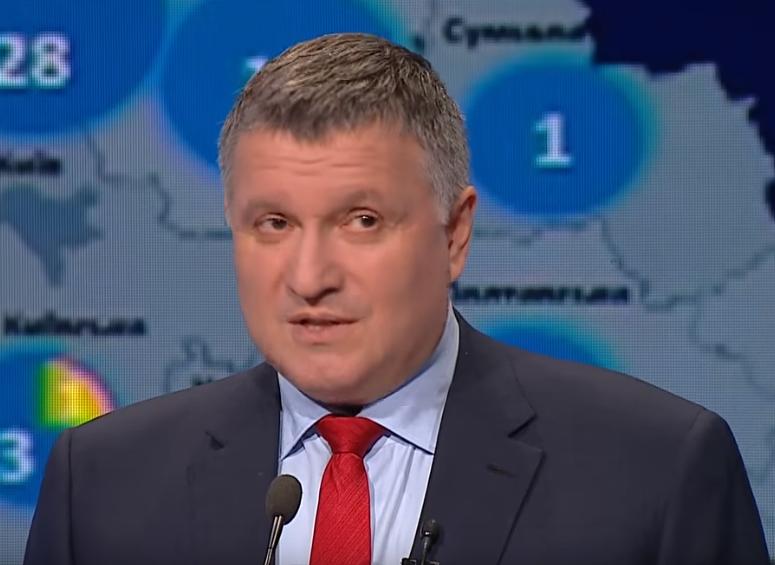"""Аваков розкрив механізм роботи """"виборчих сіток"""" / Скріншот - Youtube, Телеканал ICTV"""