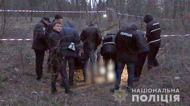 В столичном парке нашли мертвого младенца в пакете / фото kyiv.npu.gov.ua