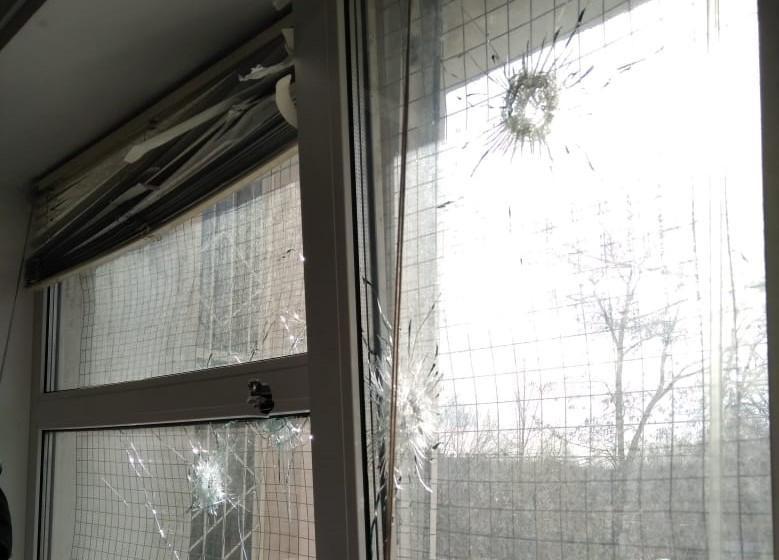 В Киеве обстреляли здание суда / фото kyiv.npu.gov.ua
