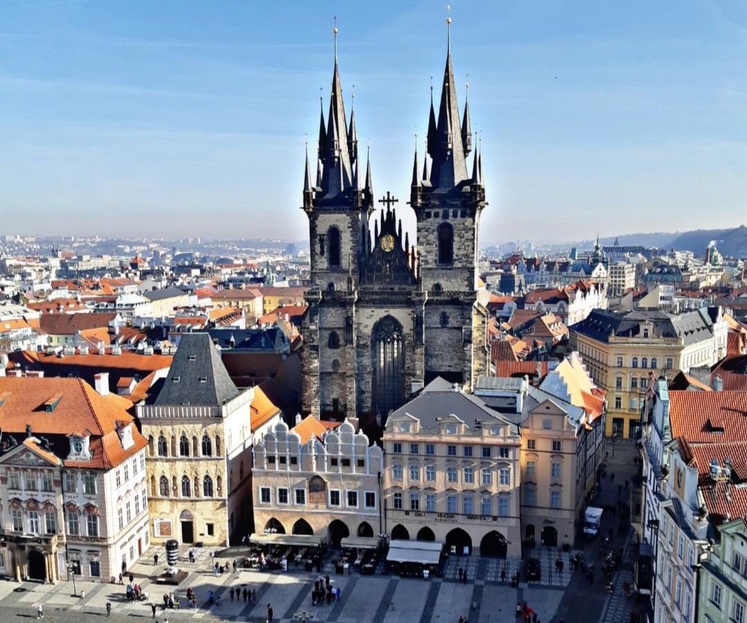Тинський храм, Прага / Фото Юлія Корнійчук