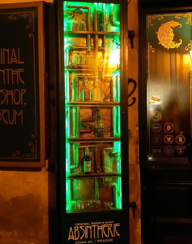 Абсент бар в Празі / Фото Юлія Корнійчук